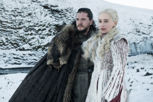 game of thrones, got, jon, jon snow. daenarys, daenarys targaryen, schneelandschaft,