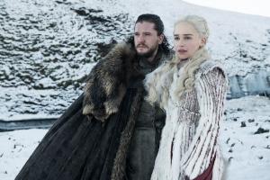 game of thrones, got, jon, jon snow. daenarys, daenarys targaryen, schneelandschaft,
