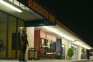 Captain Marvel, Vers, Brie Larson, Blockbuster, Neunziger, Nacht,
