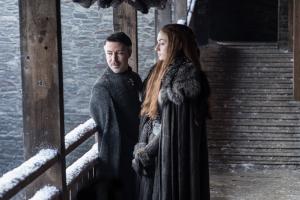 Game Of Thrones, Sansa, Kleinfinger, Petyr Baelish, Winterfell,