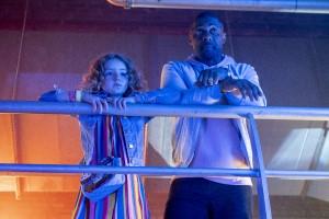 Idris Elba, Frankie Hervey, Charlie, Gabrielle, Reling, Disco