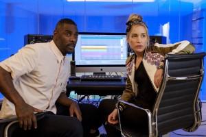 Idris Elba, Piper Perabo, Charlie, Sara, Bildschirm, Musik, Produktion, Studio