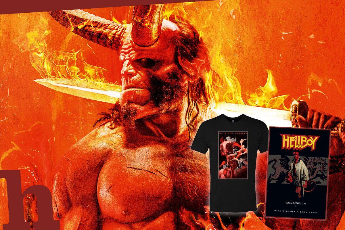 Hellboy – gewinn Kinokarten plus Kult-Comic!