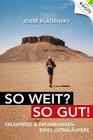 josef Kledensky, So weit? So gut!, Biographie, Egoth Verlag, Ultraläufer