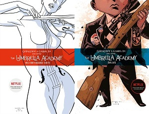 umbrella academy comics, band 1, weltuntergangs suite, band 2, dallas, cover, vanya, nummer 5
