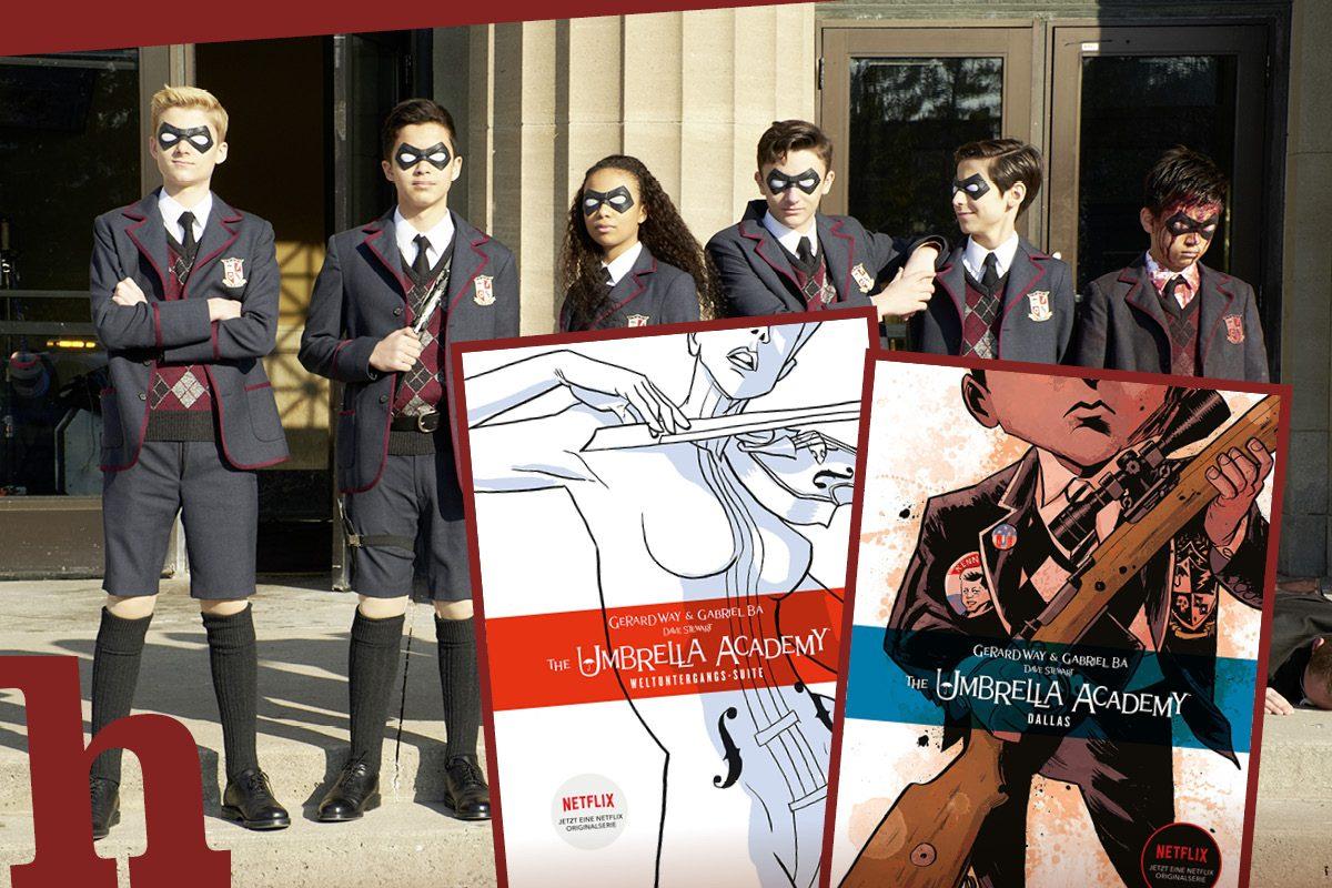Umbrella Academy: Gewinn die Kult-Comics zum Netflix-Hit