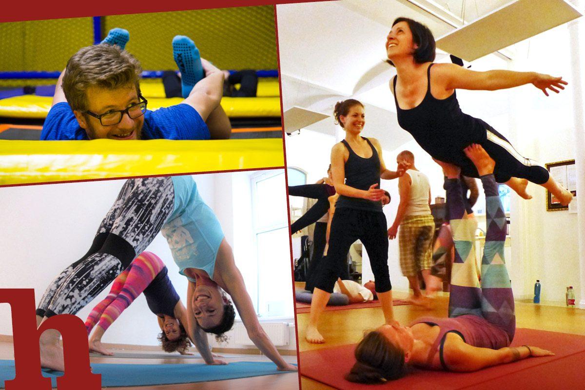 7 Yoga-Arten, die du unbedingt ausprobieren musst
