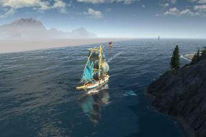 aufbaustrategiespiel, schiff, handelsroute, entdecker, meer,