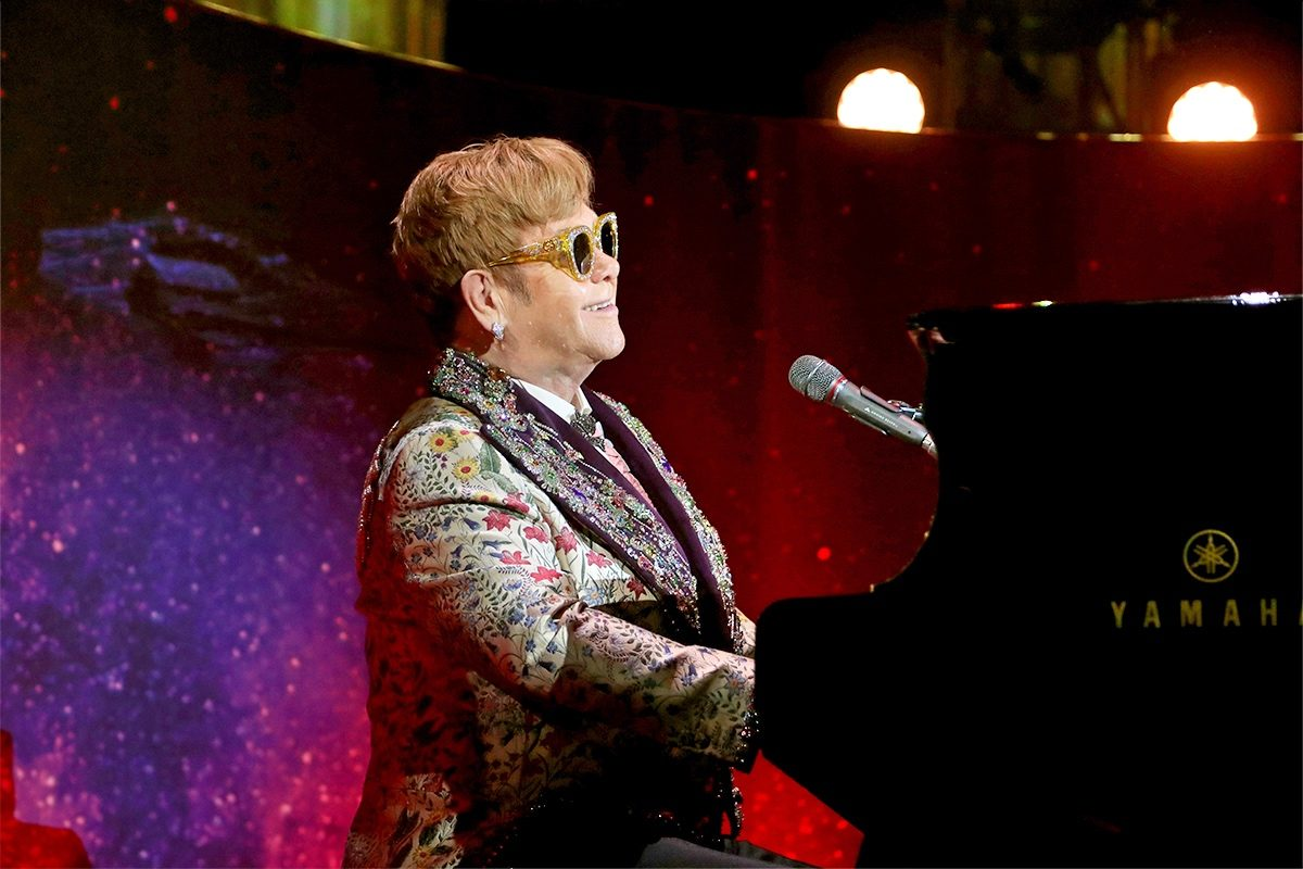 Elton John – dieses Feuerwerk zündet der Star in Wien