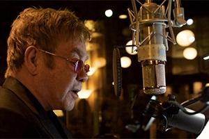 Elton John, Stadthalle, Live Mikrofon, Studio