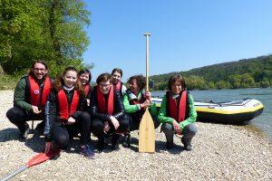 Schlauchboot-Tour mit Auwald-Wandern – so schön ist das!
