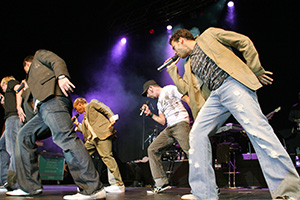 Backstreet Boys, Live, Tanz,