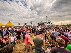 publikum, festivalgelände, festival