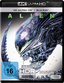 40 jahre alien, ultra hd, blu ray, cover, packshot, 40th anniversary