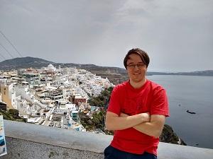Blick auf Fira, Santorin, Tipps, Urlaub, Ausblick, Vulkaninsel