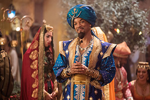 will smith, genie, palast, disney