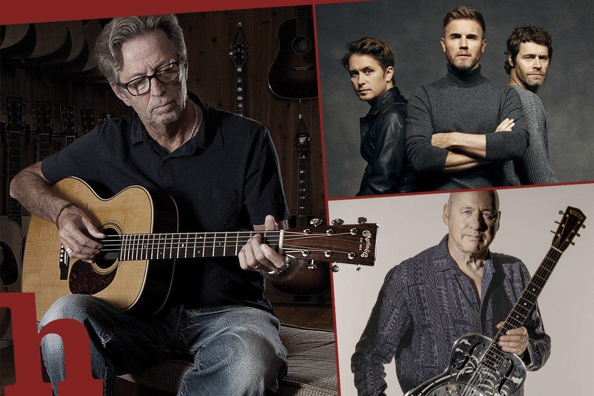 Wien-Konzerte im Juni – Von Take That über Clapton bis Knopfler