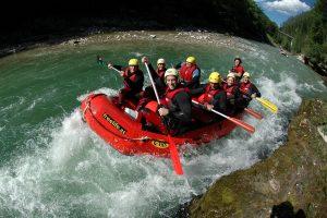 Rafting-Tour auf der Salza: Geniales Abenteuer für 4 gewinnen!