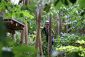 waldseilpark kahlenberg, klettern, parcours, route, kletterpark, wienerwald, balken, baumpwipfel