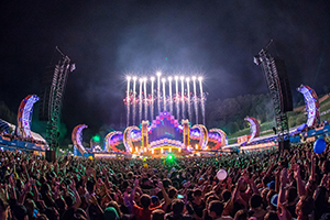 Festival, Electric Love Festival, EDM, Stagedesign, Pyro