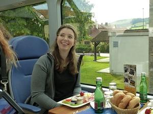 Helden, Panoramawagen, Frühstück, Zug, Ausblick, Mariazellerbahn