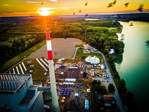 zwentendorf, atomkraftwerk, donau, sonnenuntergang, shutdown, festival, musikfestival, open-air, konzert, kraftwerk