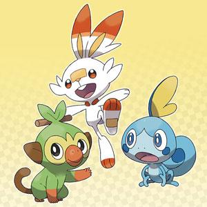 Pokemon, Chimpep, Hopplo, Memmeon, Sword, Shield
