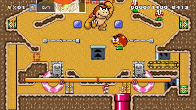 super mario maker 2, userlevel, pinball, online-mode,
