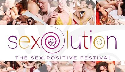 sexolution, sex, festival, plakat, logo