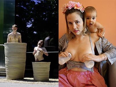 viennergy, fotorallye, frau, stillen, kategorie doppel-rahmstufe, fotowettbewerb, wien