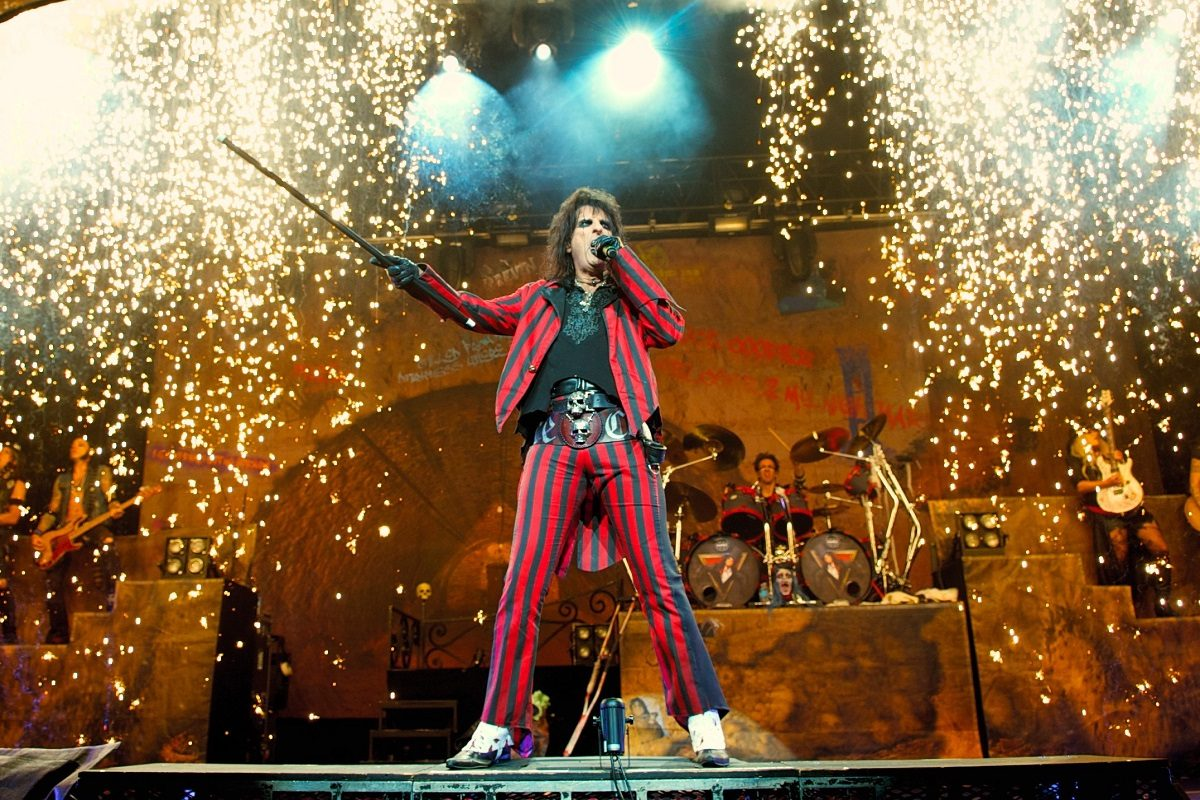 Alice Cooper in Wien: Seine Show, seine Band, seine Hits!