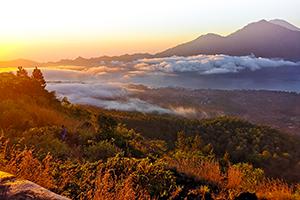 Bali, Mount Batur, Sonnenaufgang, Indonesien