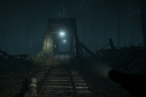 blair witch, blair witch spiel im test, horrorspiel, bloober, black hills forest, brücke
