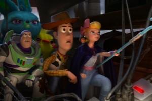 Woody, Buzz, Porzellinchen, Ducky, Bunny, Toy Story 4, Spielzeug