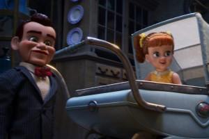 Kinderwagen, Gabby Gabby, Puppe, Marionette, Bauchrednerpuppe, Antiquitäten, Toy Story 4