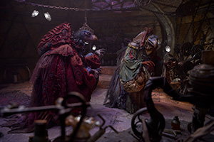 the dark crystal: age of resistance, simon pegg, mark hamill, netflix, skeksis, bösewicht