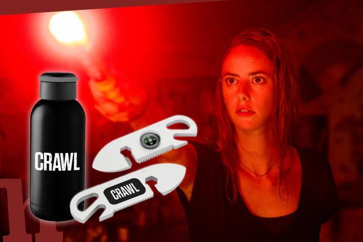 Crawl: Gewinn Kinokarten & Goodie-Set zum Horrorfilm-Hit