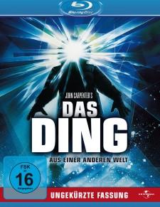 Blue Ray, Das Ding aus einer anderen Welt, Horrorklassiker, Carpenter, Top 10