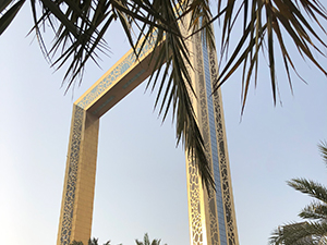 dubai frame, sightseeing, tipp