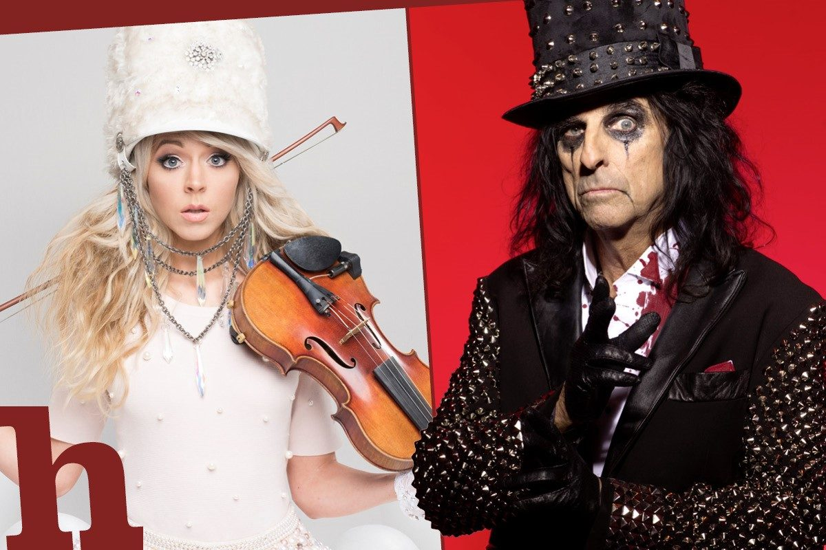 Wien-Konzerte im September: Alice Cooper, Lindsey Stirling & Co.