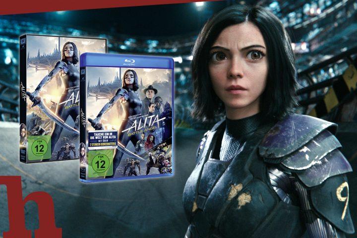 Alita: Battle Angel – wir verschenken Blu-ray und DVD zum Action-Hit