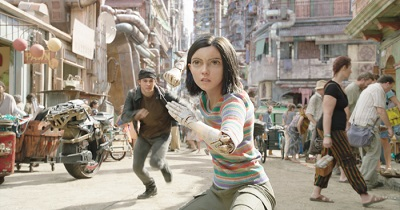 Alita Battle Angel, Iron City, Hugo, Science Fiction Film, Cyberpunk