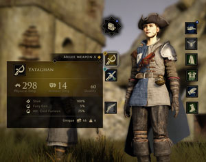 greedfall, rpg, inventar, inventory, test