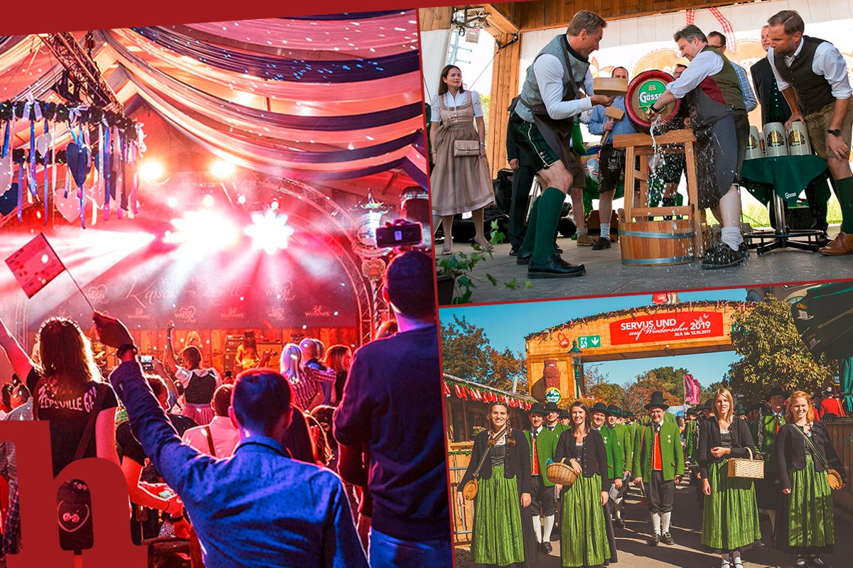 Wiener Wiesn 2019: 15 Tage Bands, Bier & Gaudi im Prater