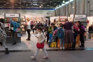Bücher, Stände, Buch Wien, Messe, Event, Buchmesse, Menschenmenge