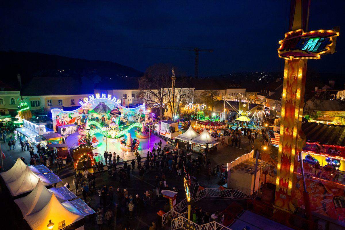 Leopoldifest 2019 in Klosterneuburg: Markt, Segen & Rummel