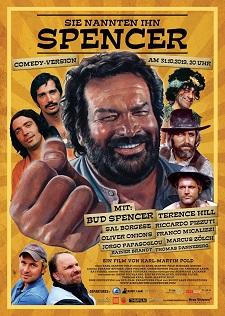 sie nannten ihn spencer, filmplakat, bud spencer, terence hill, dokumentation, poster