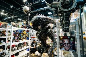 Vienna Comic Con, Statue, Alien, Shop, Even, Film, Sci-Fi