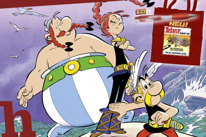 Neuer Asterix: Die Tochter des Vercingetorix – Review & Gewinnspiel