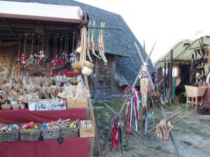 burgruine aggstein, mittelalter, kunsthandwerk, christkindlmarkt